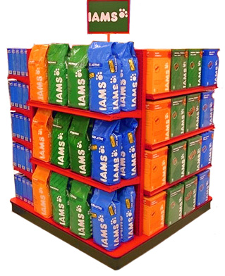 Gondola Store Shelving Units